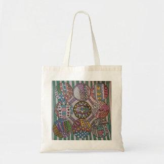 Nine Circles Design Tote Bag