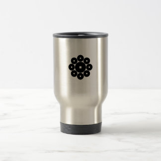 Nine coins for the Hasebe family 15 Oz Stainless Steel Travel Mug