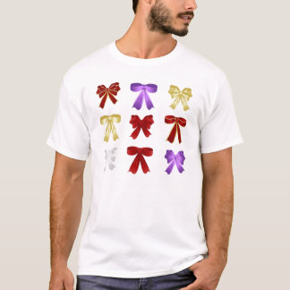 Nine colourful bows T-Shirt