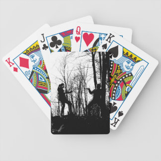 Nine Corner Lake Kung Fu Bicycle Playing Cards