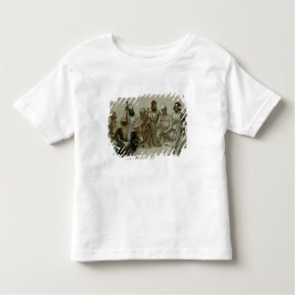 Nine courtiers and servants of the Raja Toddler T-shirt