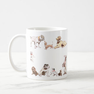 Nine Dogs Coffee Mug