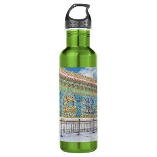 Nine Dragon Wall Forbidden City Beijing 24oz Water Bottle