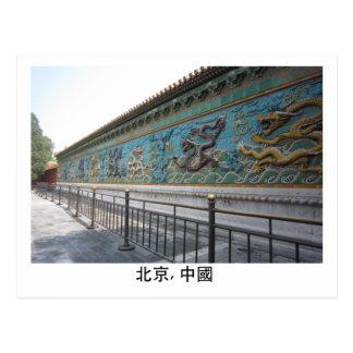 Nine Dragon Wall Postcard