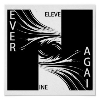 NINE ELEVEN NEVER AGAIN POSTER