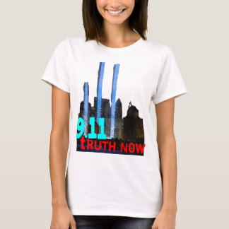 Nine Eleven Truth Now; 9/11 Truther Shirt  (women)