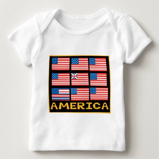 Nine Flags Baby T-Shirt
