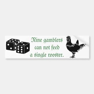 Nine Gamblers Sticker