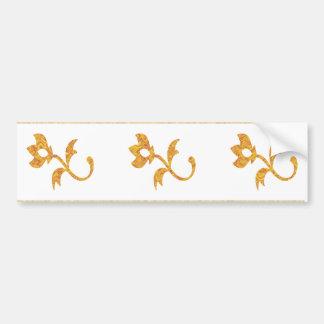 Nine Jewels on NOVINO Artistic Patterns Bumper Sticker
