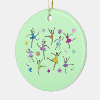 Nine Ladies Dancing Ornament
