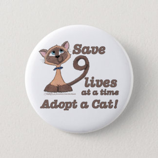 Nine Lives Button