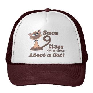 Nine Lives Mesh Hats