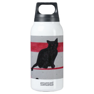 Nine Lives Insulated Water Bottle