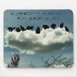 Nine Lives Mouse Pad