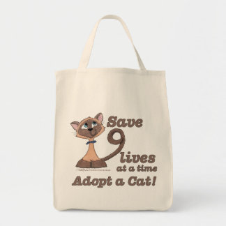 Nine Lives Tote Bag