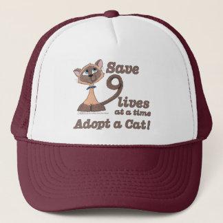 Nine Lives Trucker Hat