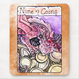 Nine of Coins Mouse Pad