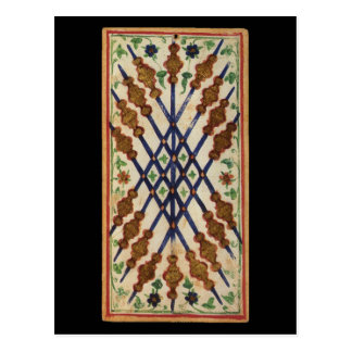 Nine of Staves Tarot Card
