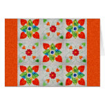 Nine Patch Heart Quilt Greeting Card