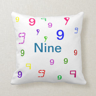 Nine Pillow - Decorative Accent Throw Pillow 3