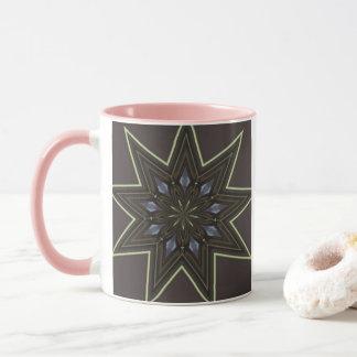 Nine Pointed Star Mug