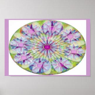 Nine Purple Star Jewels  - Artistic Decoration