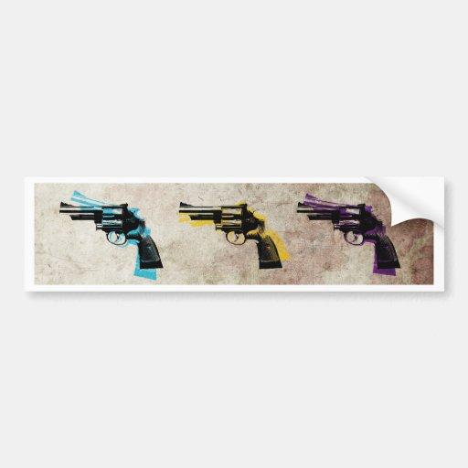 Nine Revolvers Bumper Sticker