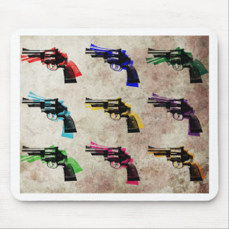 Nine Revolvers Mousemats