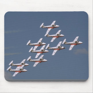 Nine Snowbirds In Close Formation Mouse Pad