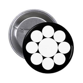 Nine stars button