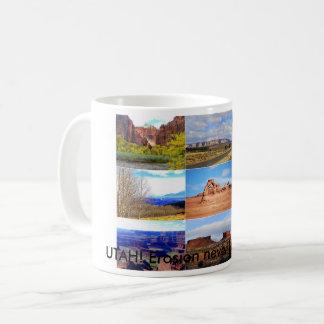 Nine Utah Landscape Icons Coffee Mug