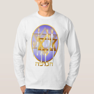 Nine White Candles Oval (lettered) Shirts