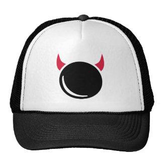 Ninepins skittles devil trucker hat