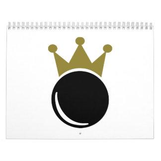 Ninepins skittles king calendar