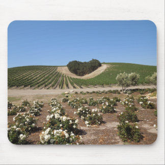 Niner Estates Heart Hill and White Roses Mouse Pad