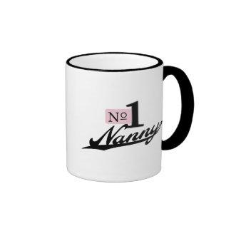 Niñera del número uno taza de café