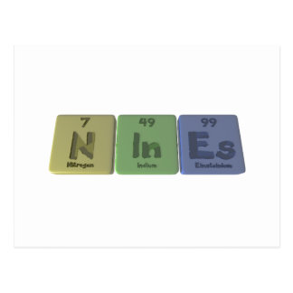 Nines-N-In-Es-Nitrogen-Indium-Einsteinium.png Postcard