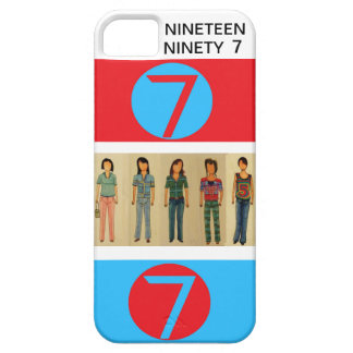 Nineteen Ninety Seven, double 7 iPhone SE/5/5s Case