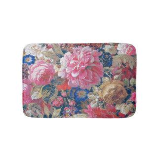 Nineteenth Century French Floral Bathroom Mat