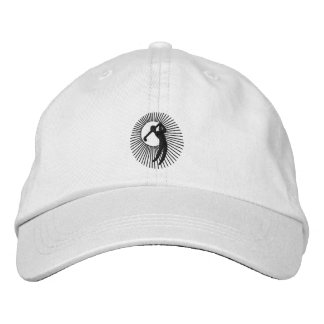 NINETEENTH HOLE EMBROIDERED BASEBALL CAP