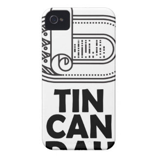 Nineteenth January - Tin Can Day iPhone 4 Case-Mate Case