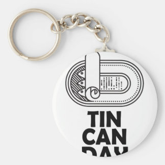 Nineteenth January - Tin Can Day Keychain