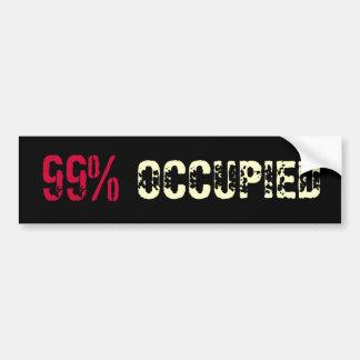 Ninety-Nine Percent OCCUPIED Bumper Sticker