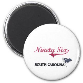 Ninety Six South Carolina City Classic Refrigerator Magnets