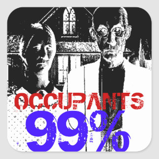 NinetyNine% OCCUPANTS Stickers