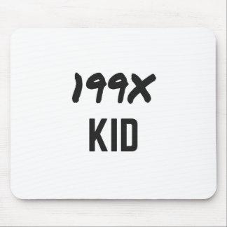 Ninety's Generation X Illustration Design Mouse Pad
