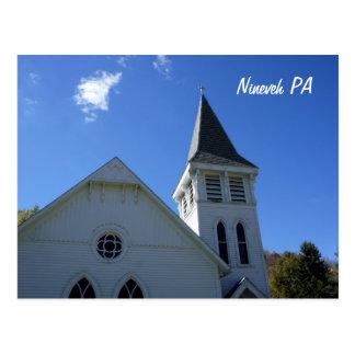 Nineveh PA Postcard