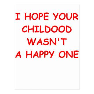 niñez postales
