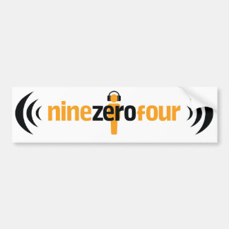 NineZeroFour Bumper Sticker Car Bumper Sticker