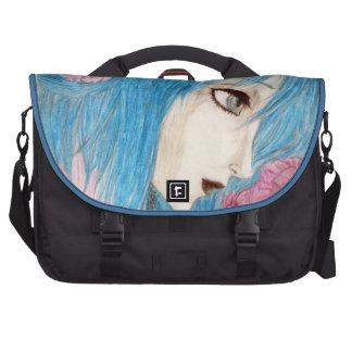 Ninfa azul bolsas para portátil